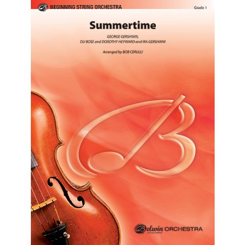 ALFRED PUBLISHING GERSHWIN GEORGE - SUMMERTIME - STRING ORCHESTRA