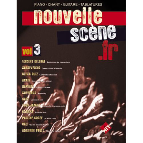 HIT DIFFUSION NOUVELLE SCENE VOL.3 - PVG TAB