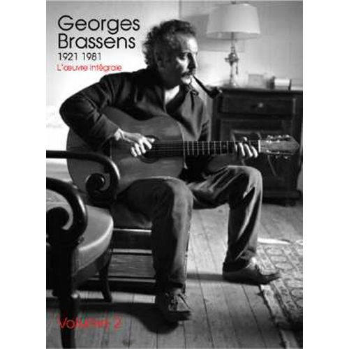 UNIVERSAL MUSIC PUBLISHING BRASSENS GEORGES : L'OEUVRE INTEGRALE VOLUME 2