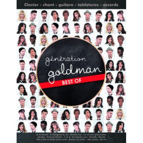 HIT DIFFUSION GOLDMAN J.J. - GENERATION GOLDMAN - BEST OF - GUITARE TAB