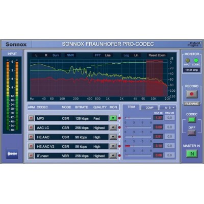 SONNOX OXFORD FRAUNHOFER PRO-CODEC NATIVE