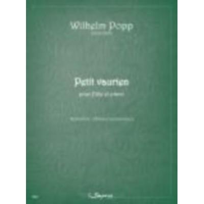 SEMPRE PIU EDITIONS POPP WILHELM - PETIT VAURIEN - FLUTE & PIANO