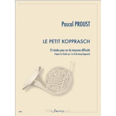 SEMPRE PIU EDITIONS PROUST PASCAL - LE PETIT KOPPRASCH - COR