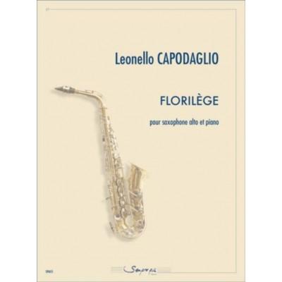 SEMPRE PIU EDITIONS CAPODAGLIO L. - FLORILEGE - SAXOPHONE & PIANO