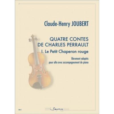 SEMPRE PIU EDITIONS QUATRE CONTES...LE PETIT CHAPERON ROUGE - ALTO ET PIANO