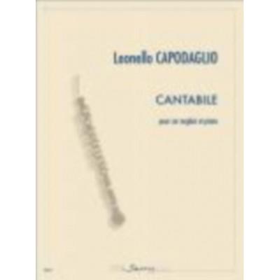 SEMPRE PIU EDITIONS CAPODAGLIO LEONELLO - CANTABILE - COR ANGLAIS & PIANO