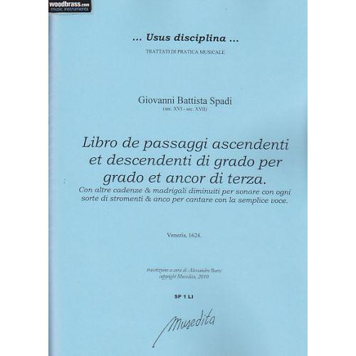 MUSEDITA SPADI G. B. - LIBRO DE PASSAGGI