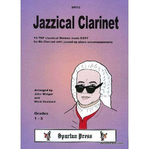 SPARTAN PRESS MUSIC JAZZICAL CLARINET - CLARINETTE ET PIANO