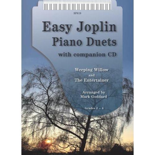 SPARTAN PRESS MUSIC EASY JOPLIN PIANO DUET