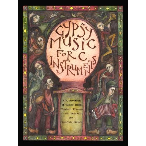 SPARTAN PRESS MUSIC GIPSY MUSIC FOR C INSTRUMENTS + CD