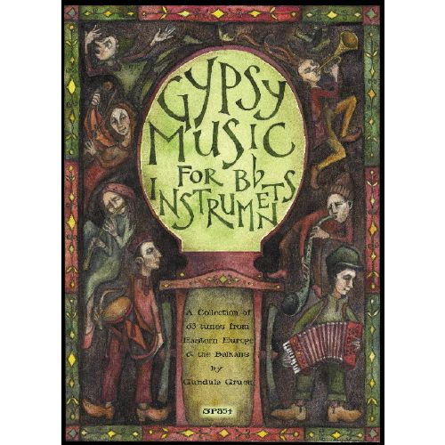 SPARTAN PRESS MUSIC GIPSY MUSIC FOR Bb INSTRUMENTS + CD