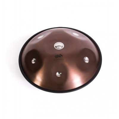 METAL SOUNDS SPACEDRUM EVOLUTION SPACE08-1 HANDPAN 8 NOTES 55 CM A MINOR DIATONIC SCALE - TASCHE