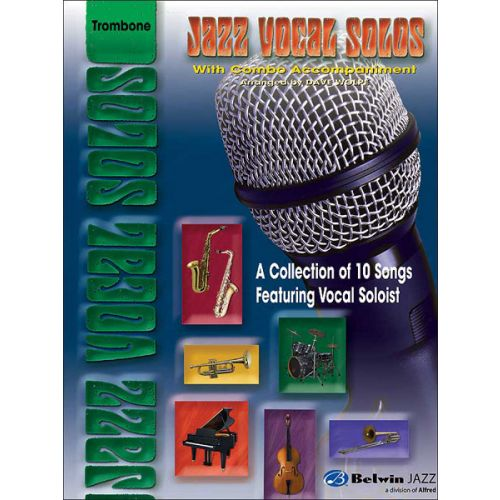 ALFRED PUBLISHING WOLPE DAVE - COMBO JAZZ VOCAL SOLOS - VOCAL