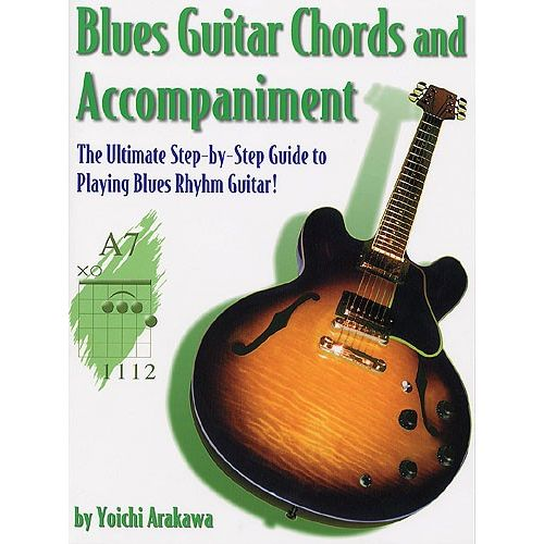 MUSIC SALES BLUES GUITAR CHORDS AND ACCOMPANIMENT - GUITAR