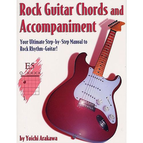 MUSIC SALES ROCK GUITAR CHORDS AND ACCOMPANIMENT - GUITAR
