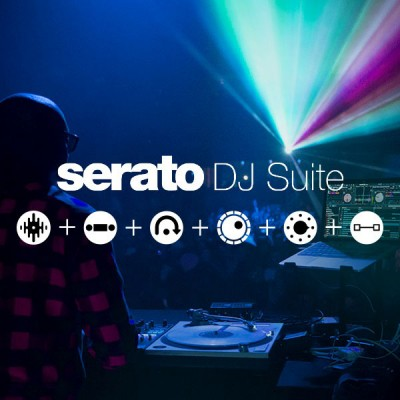 SERATO SOFTWARE SERATO DJ SUITE - SCRATCH CARD