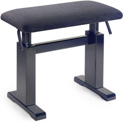 STAGG BLACK PIANOBENCH PBH 780 BKM VBK