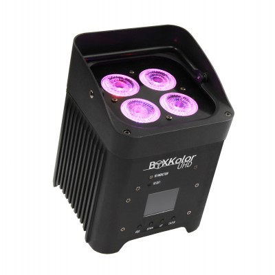 STARWAY BOXKOLOR UHD (CONDITIONED IN FLIGHT - NOT INCLUDED) 4X12W RGBWA + UV