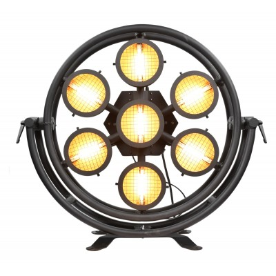 STARWAY ORION - 7X300W HALOGEN FLOODLIGHT DELIVERED WITH FOOT AND FC SUPPORTS