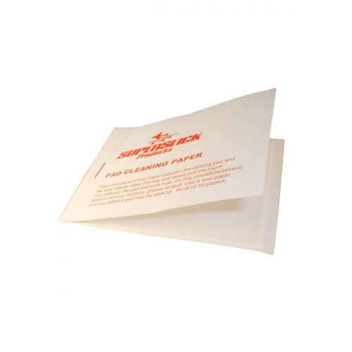 SUPERSLICK PADPAPER - BOOK OF 10 SHEETS OF PAD CLEANING PAPER