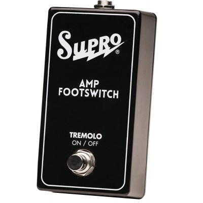 SUPRO SF1 SINGLE FOOTSWITCH TREMOLO ON/OFF REMOTE