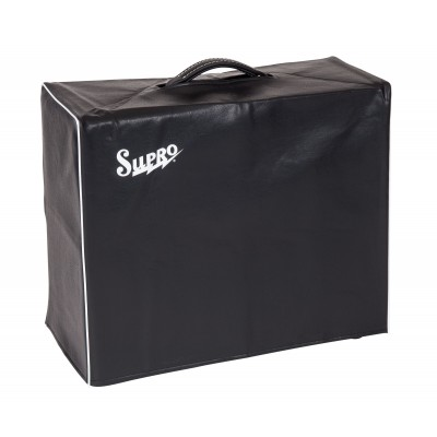 SUPRO VC15 BLACK AMP COVER - FITS 1 X 15 COMBO