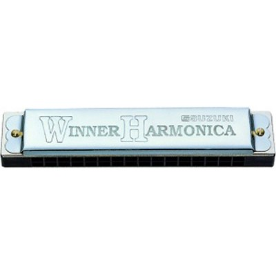 SUZUKI HARMONICA TREMOLO DO WINNER C