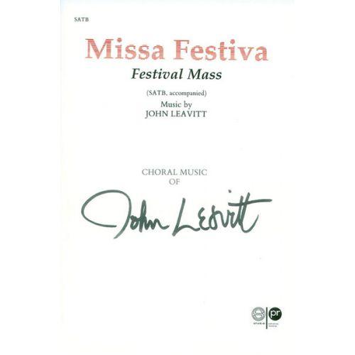 ALFRED PUBLISHING MISSA FESTIVA - LARGE-SCALE CHORAL WORKS
