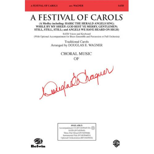 ALFRED PUBLISHING FESTIVAL OF CAROLS, A - MIXED VOICES