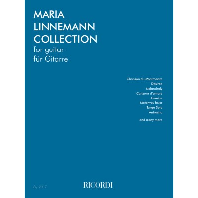 RICORDI THE MARIA LINNEMANN COLLECTION - GUITARE