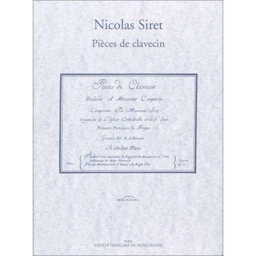 SYMETRIE SIRET N. - HERLIN D. - PIÈCES DE CLAVECIN - CLAVECIN