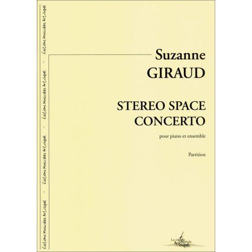 SYMETRIE GIRAUD S. - STEREO SPACE CONCERTO - PIANO