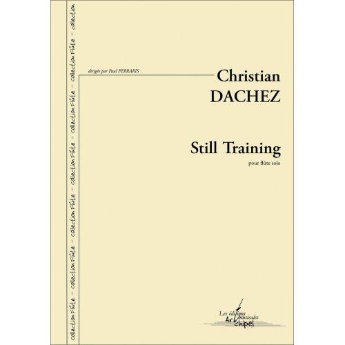 SYMETRIE DACHEZ C. - STILL TRAINING - FLUTE