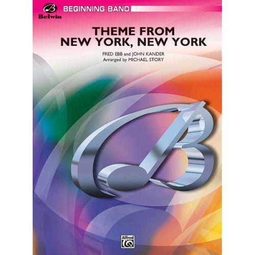 ALFRED PUBLISHING KANDER AND EBB - NEW YORK, NEW YORK THEME - SYMPHONIC WIND BAND
