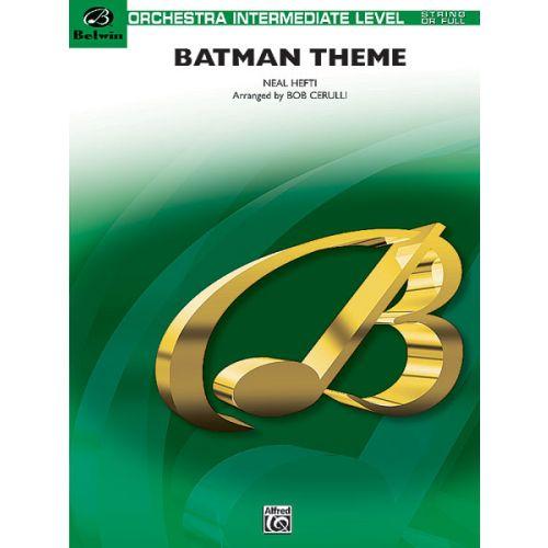 ALFRED PUBLISHING HEFTI NEAL - BATMAN THEME - FULL ORCHESTRA