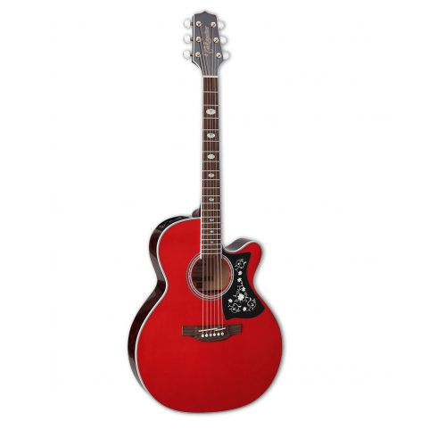 TAKAMINE GN75 CUTAWAY WINE RED