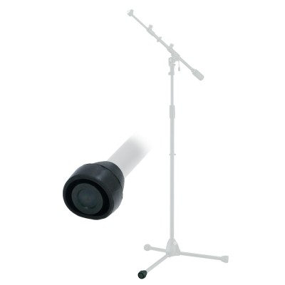 TAMA 756-RF - RUBBER FOOT FOR MICROPHONE STANDS 19.1MM DIAMETER