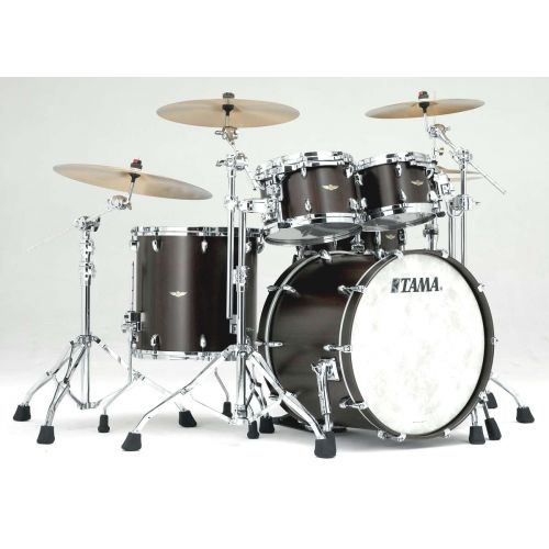 TAMA TW42RZS-WSBN - STAR WALNUT STAGE 22 SATIN BLACK WALNUT