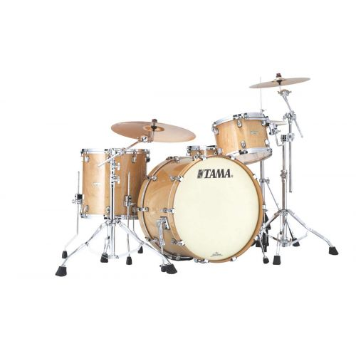 TAMA ME34CZS-GFMG - STARCLASSIC FIGURED MAPLE 3 FUTS OHNE HARDWARE - FIGURED MAPLE GLOSS