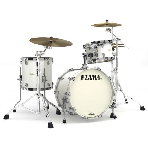TAMA MA30CMBS-SPW - STARCLASSIC FIGURED MAPLE 3 FUTS OHNE HARDWARE - SATIN PIANO WHITE