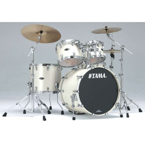 TAMA PP42S-SPW - STARCLASSIC PERFORMER B/B 22/10/12/16 OHNE HARDWARE SATIN PEARL WHITE