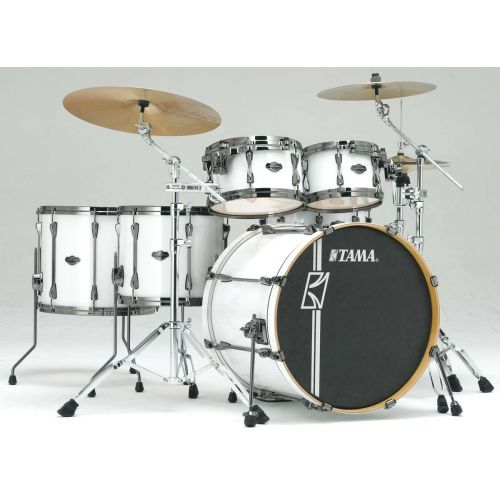 TAMA MK62HZBNS-SGW - SUPERSTAR HYPER-DRIVE MAPLE 22/10/12/14/16 OHNE HARDWARE SUGAR WHITE