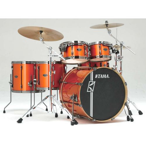 TAMA ML62HZBNS-BOM - SUPERSTAR HYPER-DRIVE MAPLE 22/10/12/14/16 OHNE HARDWARE BRIGHT ORANGE META