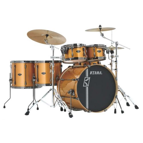TAMA ML62HZBNS-GYM - SUPERSTAR HYPER-DRIVE MAPLE 6 FUTS OHNE HARDWARE - GOLDEN YELLOW METALLIC