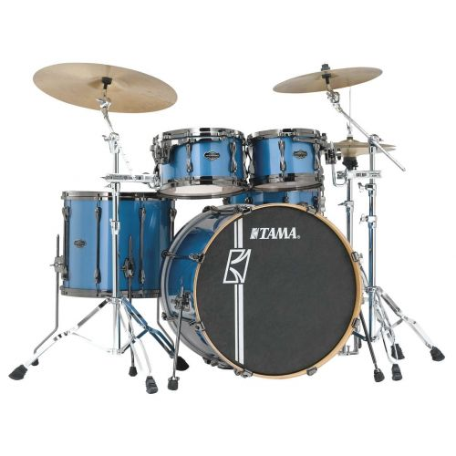 TAMA ML52HZBNS-VBM - SUPERSTAR HYPER-DRIVE MAPLE 5 FUTS OHNE HARDWARE - VINTAGE BLUE METALLIC