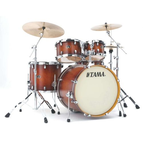 TAMA VP52KRS-ABR BATTERIE SILVERSTAR CUSTOM 22/10/12/16 OHNE HARDWARE ANTIQUE BROWN BURST