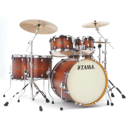 TAMA VP62RS-ABR - SILVERSTAR CUSTOM 22/10/12/14/16 OHNE HARDWARE ANTIQUE BROWN BURST