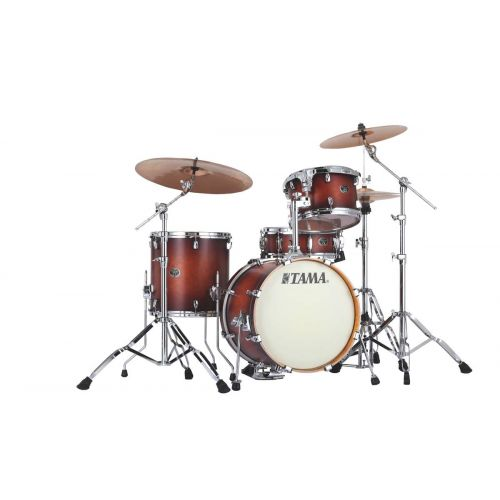 TAMA VP48S-ABR - SILVERSTAR CUSTOM 18/12/14 OHNE HARDWARE ANTIQUE BROWN BURST