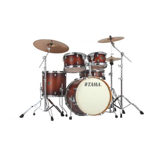 TAMA VP50RS-ABR - SILVERSTAR CUSTOM 20/10/12/14 OHNE HARDWARE ANTIQUE BROWN BURST