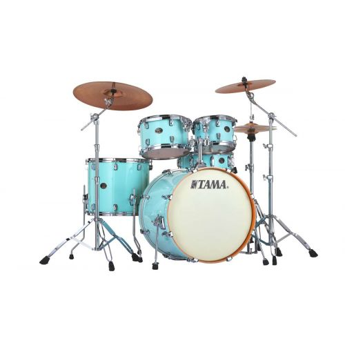 TAMA VP52KRS-LBL - SILVERSTAR CUSTOM 22/10/12/16 OHNE HARDWARE LIGHT BLUE LACQUER